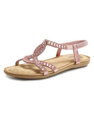 Cushioned Jewelled Sandals