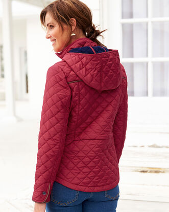 Fleece Lined Quilted Jacket