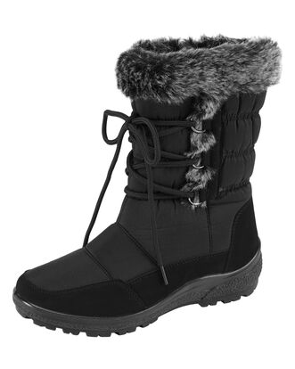 Cozy Comfort Fur Trim Boots