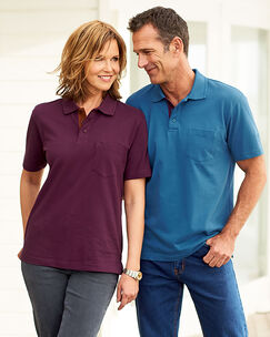 Short Sleeve Pocket Polo Shirt