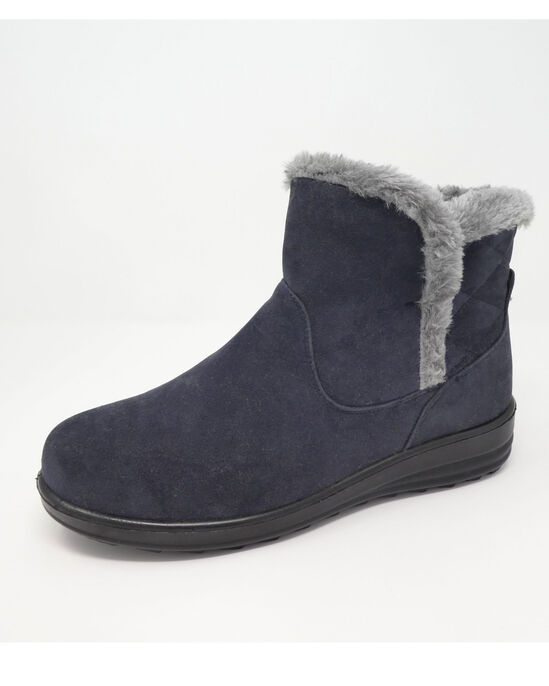 Quilt Detail Snug Boots