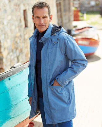 Gillside Showerproof Fleece Lined Coat