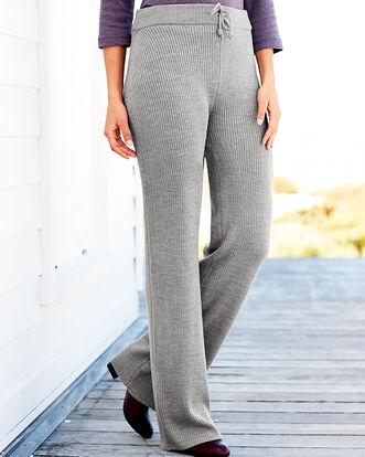Knitted Rib Pants