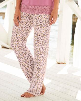 Jersey Floral Pyjama Bottoms
