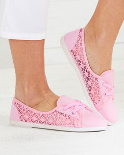 Lace Slip-on Shoes