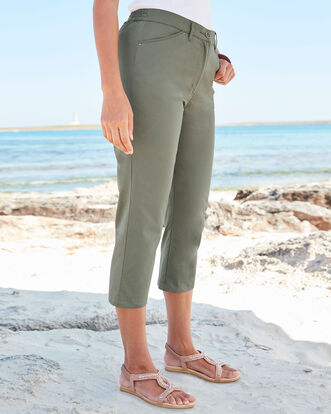 Chino Crop Pants