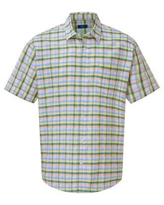 Short Sleeve Casual Oxford Shirt