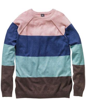 Block Stripe Fine Gauge Sweater