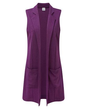 Jersey Tweed Vest