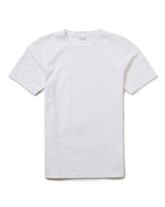 White Short Sleeve Crew Neck Organic T-shirt