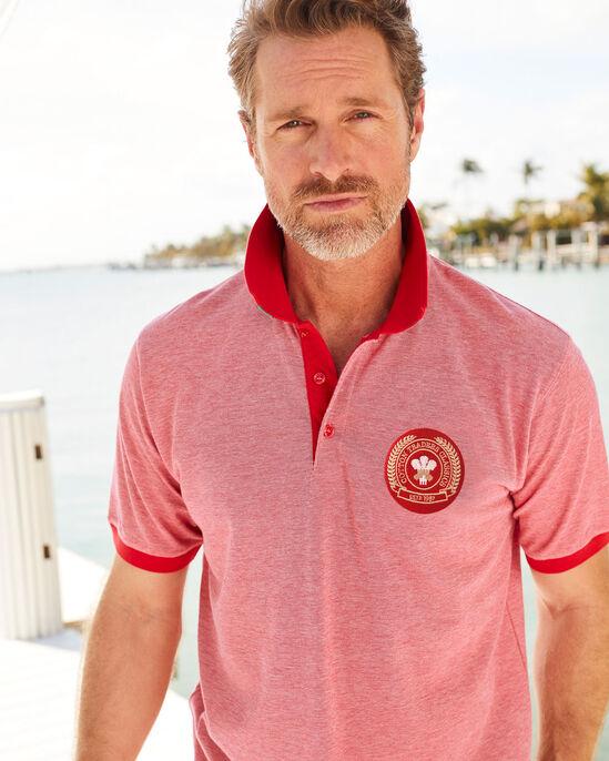 Short Sleeve Wales Polo Shirt
