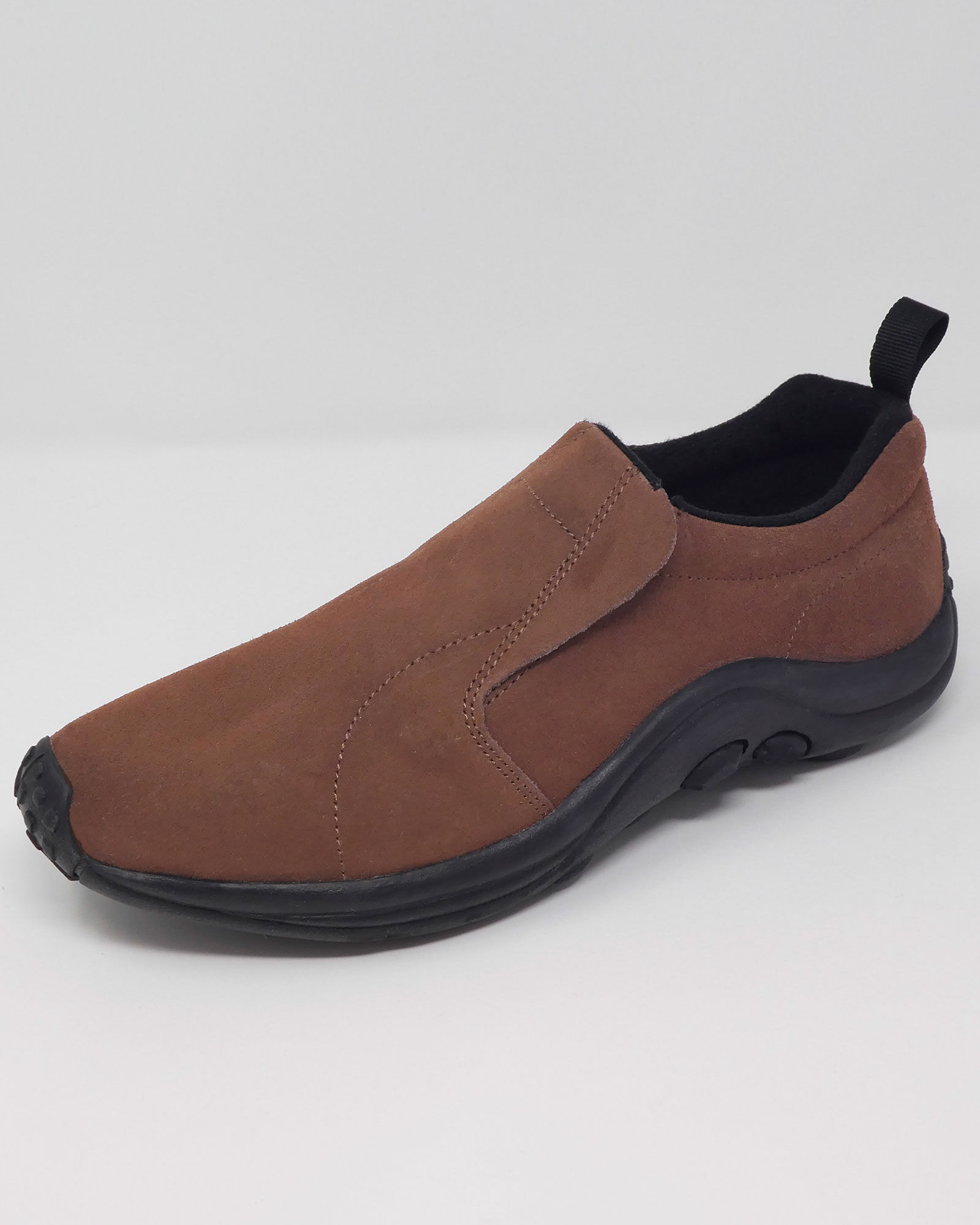 Comfort Fit Suede Slip-ons at Cotton