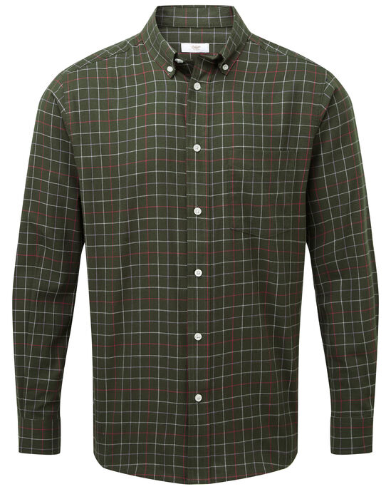Classic Long Sleeve Tattersall Twill Shirt