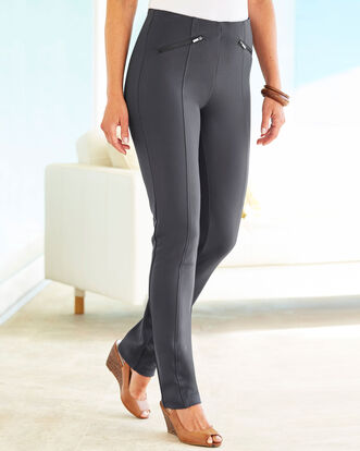 Jersey Stretch Pull-on Pants