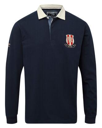 England Rose Long Sleeve Rugby Shirt