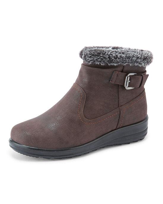 Flexisole Buckle Detail Snug Boots