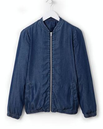 Elastic Hem Jacket