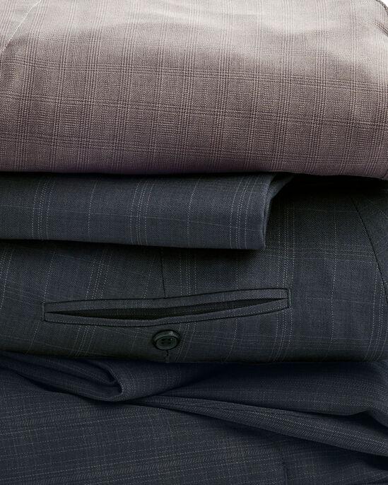Pleat Front Check Comfort Pants