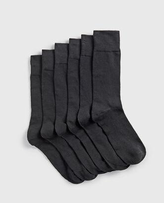 6pk Supersoft Socks