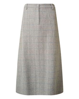Side Elastic Waist Skirt