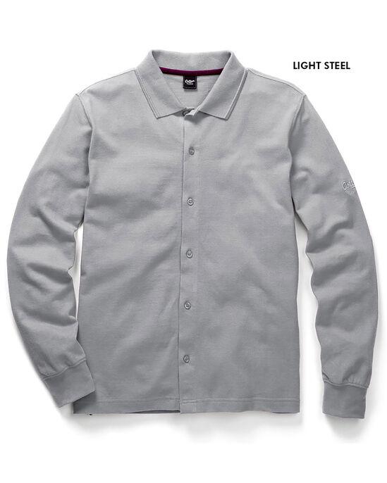 Long Sleeve Pique Shirt
