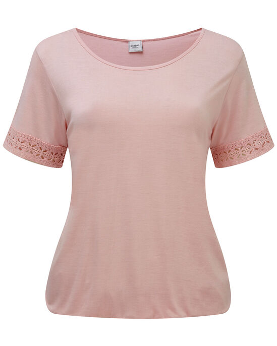 Elastic Hem T-shirt