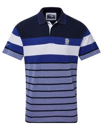 England Rose Multi Stripe Polo Shirt