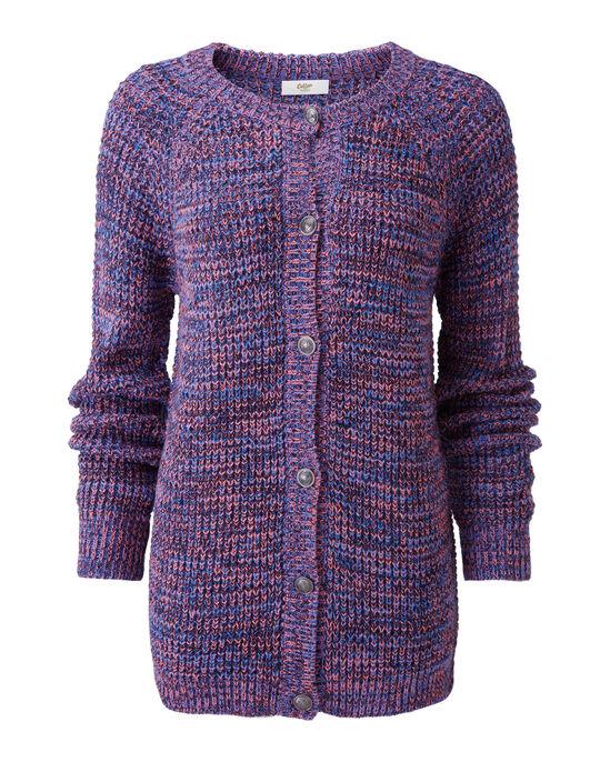 Textured Button-through Cardigan