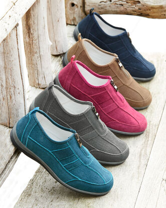 Suede Leisure Flex Sneakers