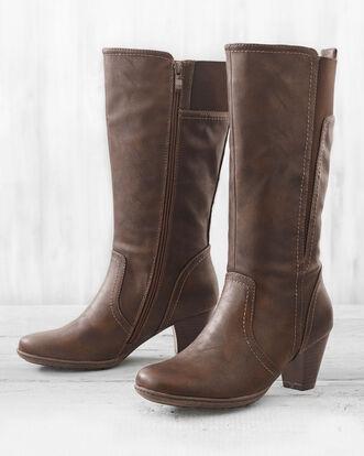 Heeled Mid-calf Boots