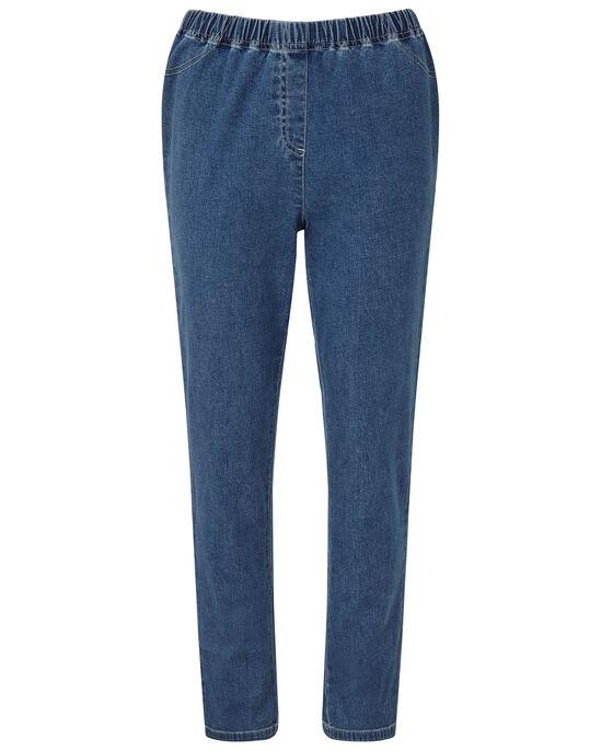 Pull-on Stretch Straight Leg Pants