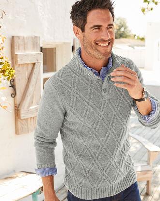 Diamond Stitch Sweater