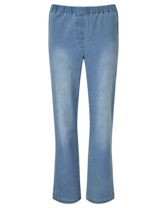 Pull-on Stretch Slim Bootcut Pants
