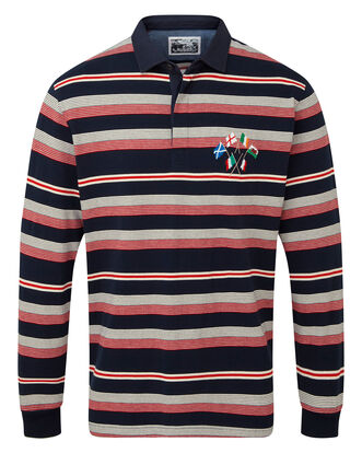 Six Nations Long Sleeve Rugby Shirt
