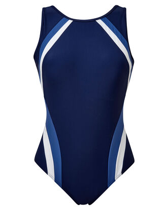 Panelled Swimsuit