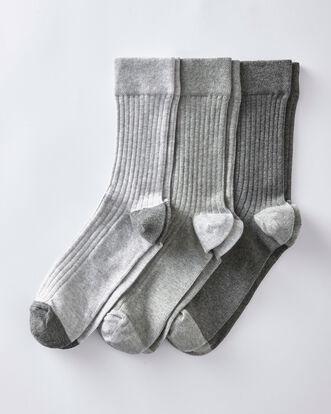 3 Pk Comfort Top Socks