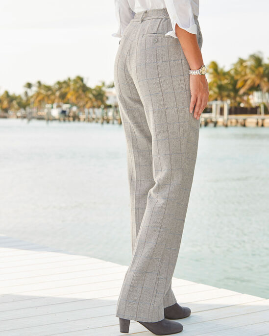 Side Elastic Waist Pants