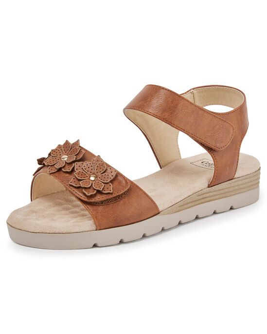 Cushion Support Flower Sandals