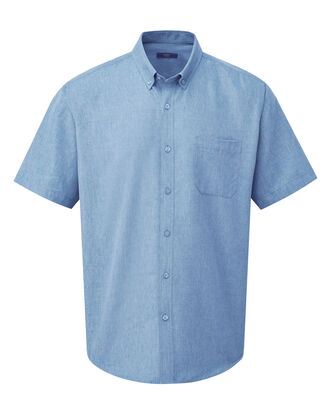 Light Teal Short Sleeve Soft Touch Shirt