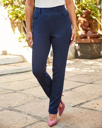 Luxury Pull-on Pants