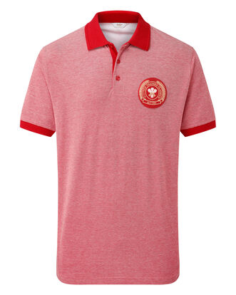 Short Sleeve Wales Polo Shirt