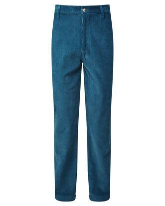 Flat Front Cord Pants