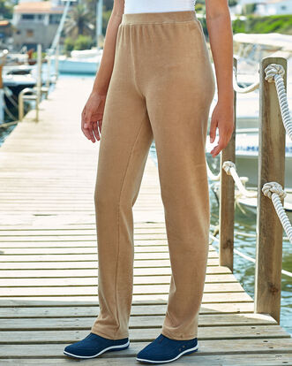 Jersey Pull-on Cord Pants
