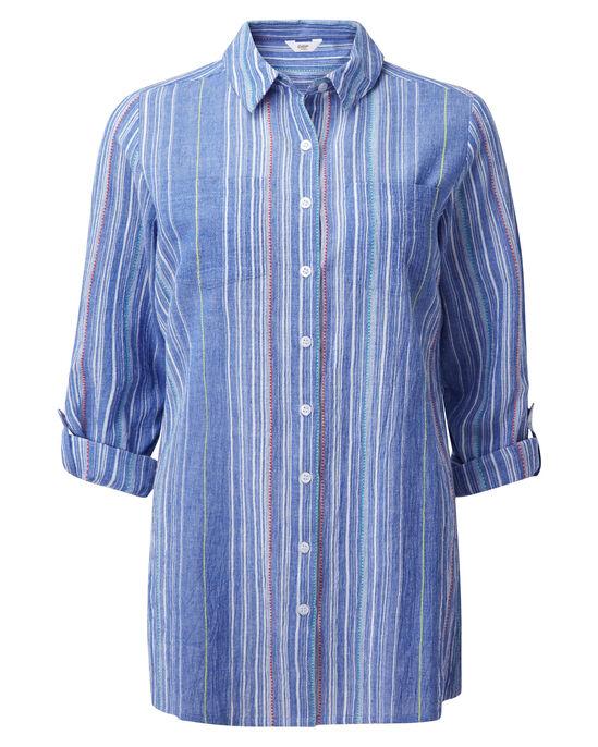 Longline Crinkle Shirt